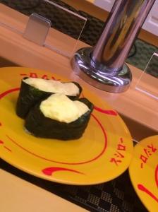 Egg salad (with mayo!) gunken.