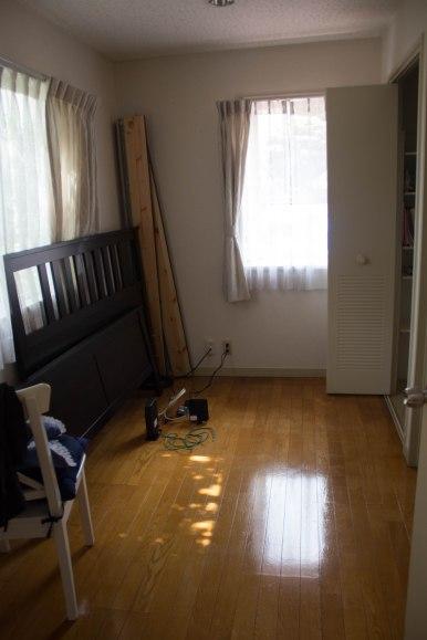 First floor bonus room, a.k.a. future office, a.k.a. future guest suite! Has its own bath.